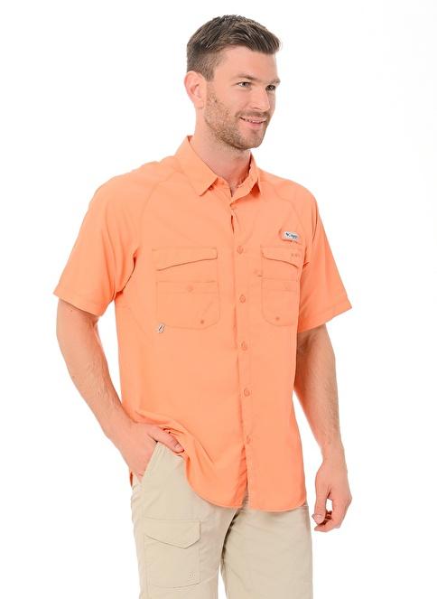 Columbia Kısa Kollu Gömlek Oranj
